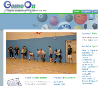 Website - Game On