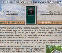 Website - Green Door Studio and Gallery